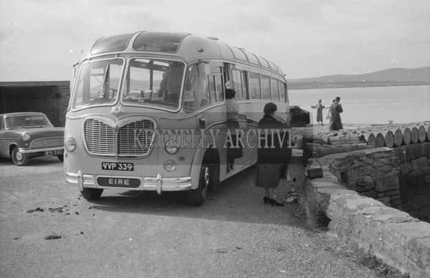 1953; A Bus Tour On Valentia Island.