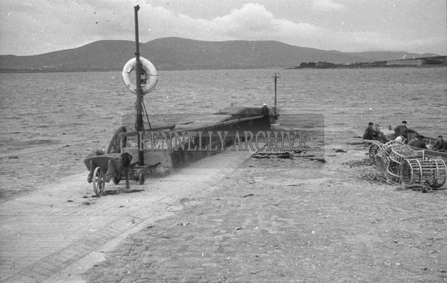 1953; A Photo Of Valentia Pier.