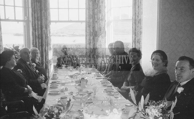 1953; A Wedding Reception At The Royal Hotel On Valentia Island.