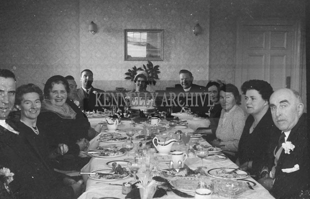 1953; A Wedding Reception At The Royal Hotel On Valentia Island.