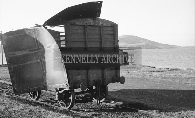 1953; A Photo Of A Carraige On Valentia Island.