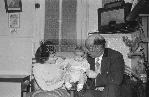 1953; A Photo Of A Family At Home.
