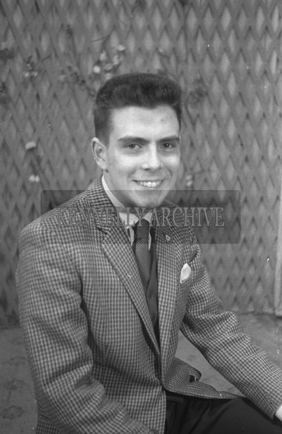 1953; A Studio Photo Of A Man.