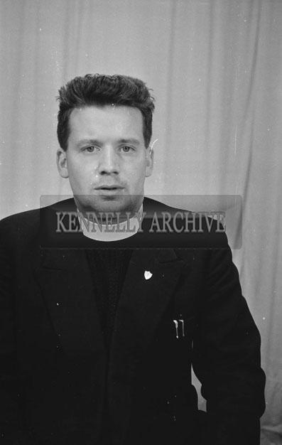1953; A Studio Photo Of A Priest