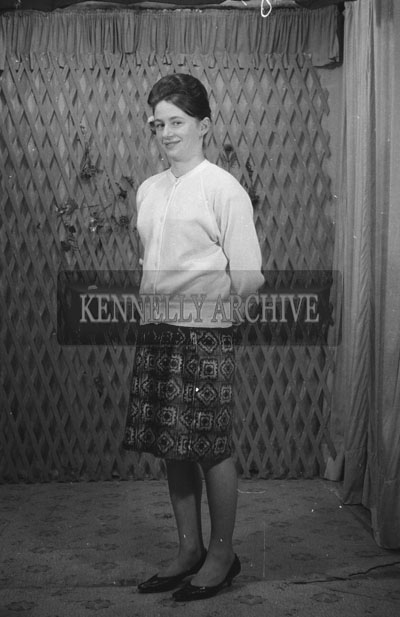 1953; A Studio Photo Of A Woman.