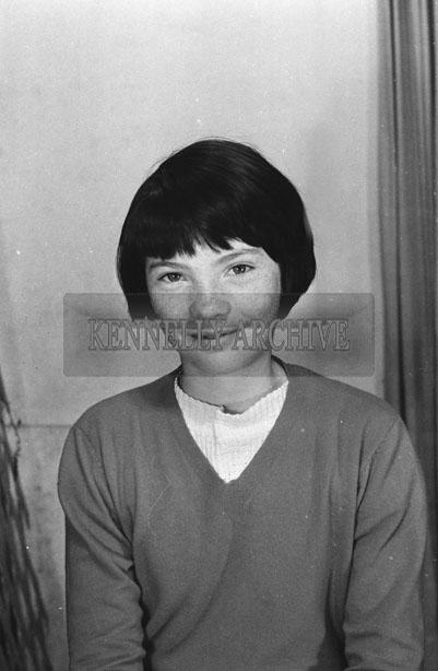 1953; A Studio Photo Of A Girl.