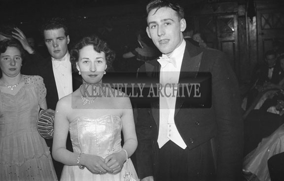 16th February 1954; A Group Shot At The 7th Annual Traly Footwear Dress Dance And Buffet At Ashe Memorial Hall Tralee. Music Supplied By The Alan Beale Orchestra.