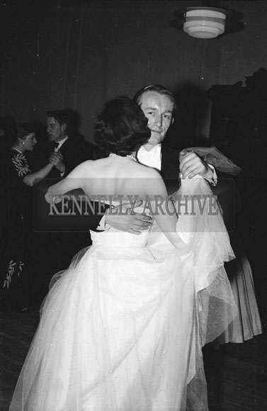 January 1954; Couples Dancing At The Golf Dress Dance And Dinner In Killarney.