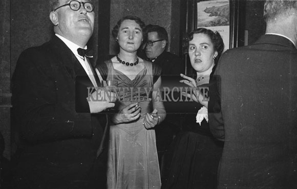 January 1954; A Group Of People At The Golf Dress Dance And Dinner In Killarney.