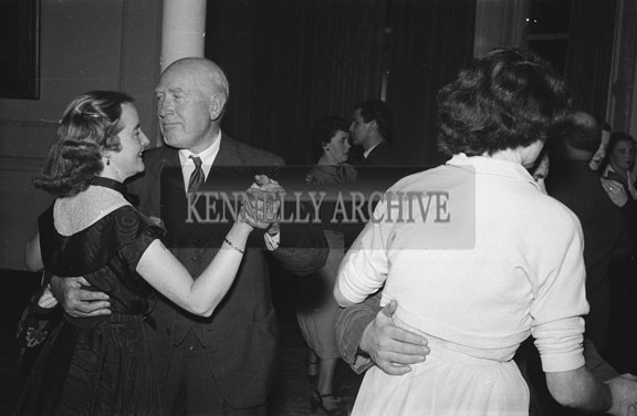 December 1953/January 1954; Dancing Couples At A Social At The Meadowlands Hotel.