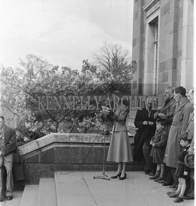 21st April 1954; Speeches At An Tostal Parade Easter Monday In Tralee.