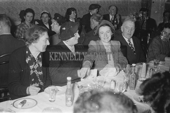 21st April 1954; Gerald's Wedding Reception In The Meadowlands Hotel, Tralee.