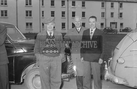 21st April 1954; Three Men Who Attended Gerald's Wedding On Easter Monday.