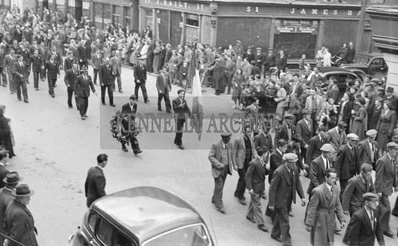 21st April 1954; Easter Monday Parade To The Rath Republican Plot.