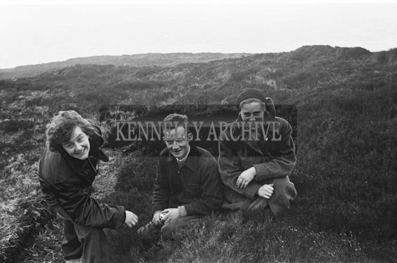 April 1954; A Group Taking A Break From Hill-Walking In Killarney.
