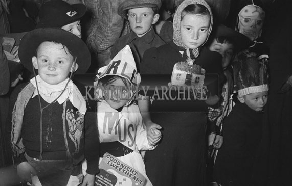 6th May 1954; A photo taken at a Fancy Dress Competition in Tralee.