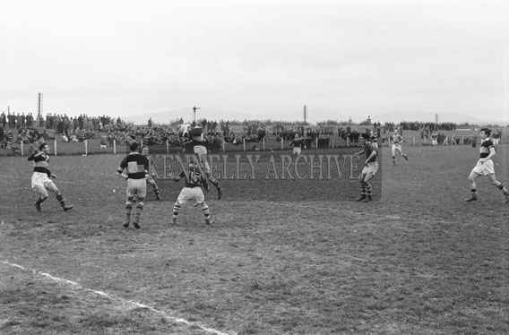 1st May 1954; An Action Shot From An Tostal Cup Match Between Strand Road And Rock Street At Austin Stack Park, Tralee. Strand Road Won The Match.
