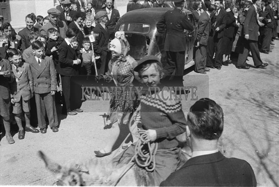 16th May 1954; Fancy Dress Parade At The Rathmore Carnival.