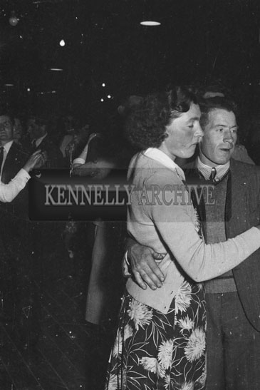 16th May 1954; Couples Dancing At The Rathmore Carnival Dance.
