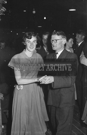 16th May 1954; A Couple Dancing At The Rathmore Carnival Dance.