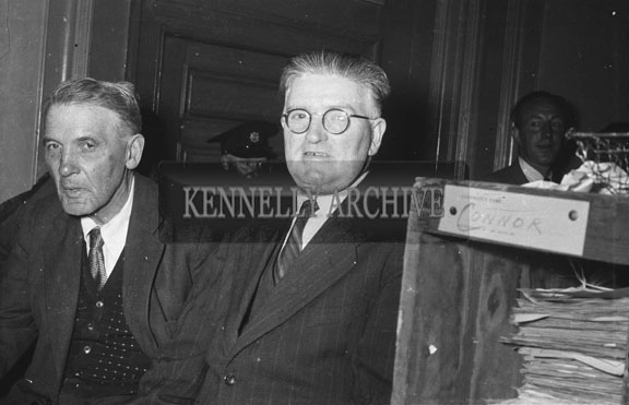 May 1954; Tom McEllistrum TD And Company At The May Political Elections.