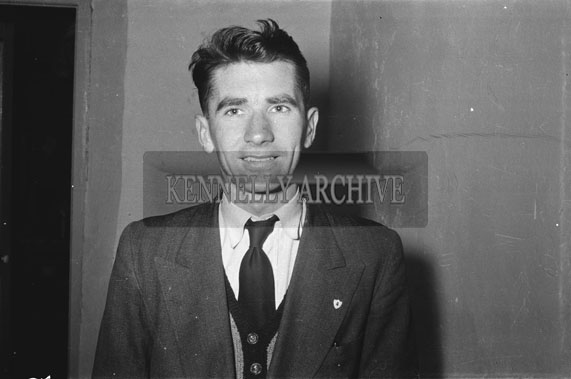 May 1954; A Studio Photo Of Maurice Fitzgerald, Printer.