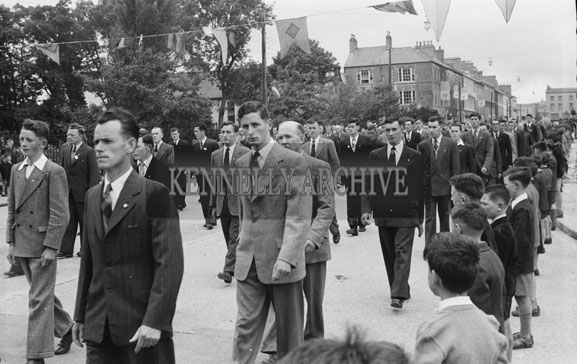 20th June 1954; The Corpus Christi Procession In Tralee.