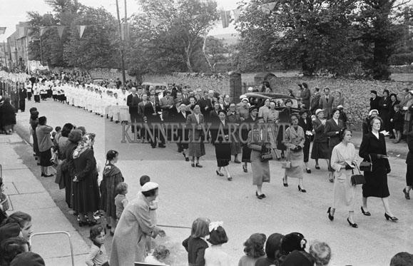 20th June 1954; The Corpus Christi Procession In Tralee.