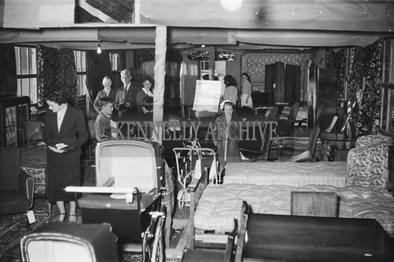 22nd June 1954; An Exhibition At The Trade Show During The Kingdom County Fair, Tralee.