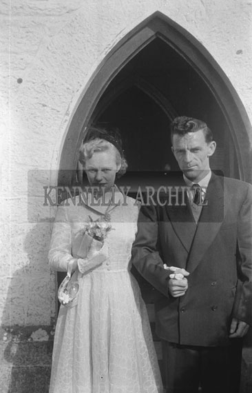 3rd July 1954; The Switzer wedding in the Church of the Immaculate Conception (St Catherine's), Tralee.
