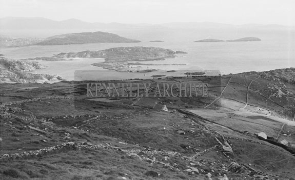 July 1954; A Photo Of The Beautiful View Of Derrynane Bay, Co. Kerry