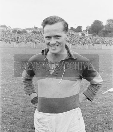25th July 1954; A Photo Of Bobby Buckley At The Munster Senior Football Final Between Kerry And Cork At Austin Stack Park In Tralee. Kerry Won 4-9 To 2-3.