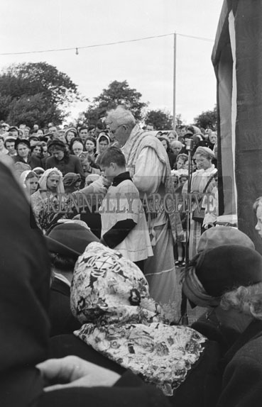 8th September 1954; Open-Air Mass At The Grotto During Pattern Day At Ballyheigue.