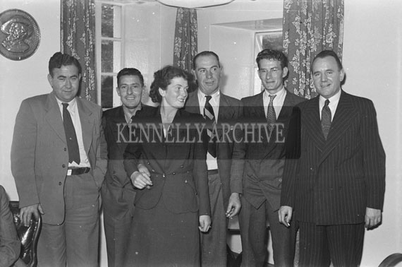 25th September 1954; The O'Connor Wedding Reception At The Meadowlands Hotel, Tralee.