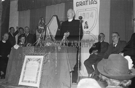 31st October 1954; Speeches And Blessings At The 50th Anniversary Procession To Ardfert Abbey.