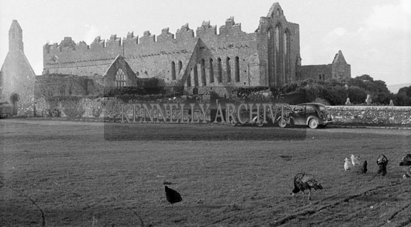 31st October 1954; Ardfert Abbey.