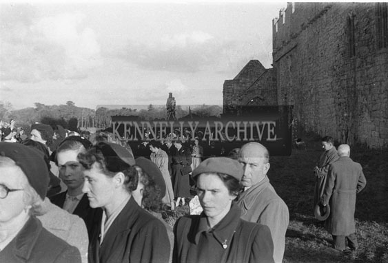 31st October 1954; The 50th Anniversary Procession To Ardfert Abbey.