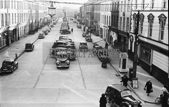 November 1954; A view of Denny Street.