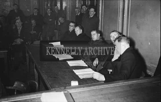 November 1954; The Meeting In Progress At The Munster G.A.A. Convention In The Ashe Memorial Hall In Tralee.