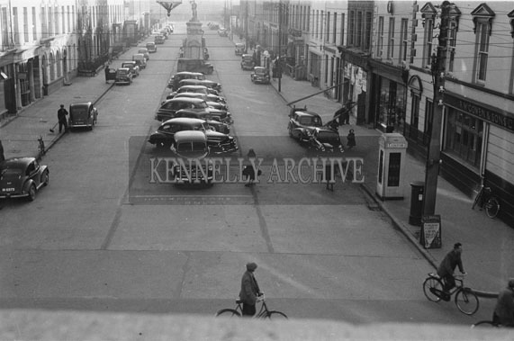November 1954; A Photo Of Denny Street In Tralee.