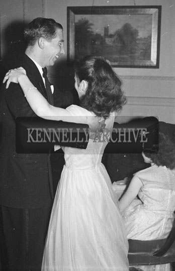 8th December 1954; A Couple Dancing At The Tralee Tennis Dance Held At The Lake Hotel In Killarney.