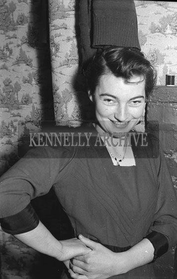 December 1954; A Member Of The Kennelly Family Of Ballylongford, Co. Kerry.