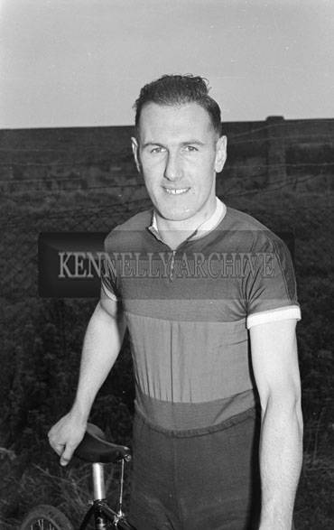 16th September 1956; An athlete who competed in the cycling race at the Kerry Sports Day out which took place in Austin Stacks Park in Tralee.