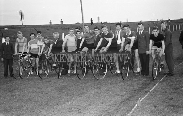 16th September 1956; A cycle race at the Kerry Sports Day Out which took place in Austin Stacks Park in Tralee.