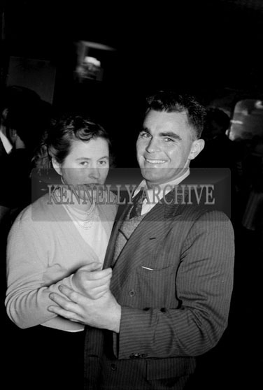 24th January 1956; A Couple Dancing At The Lixnaw ICA Social In The Meadowlands Hotel, Tralee.