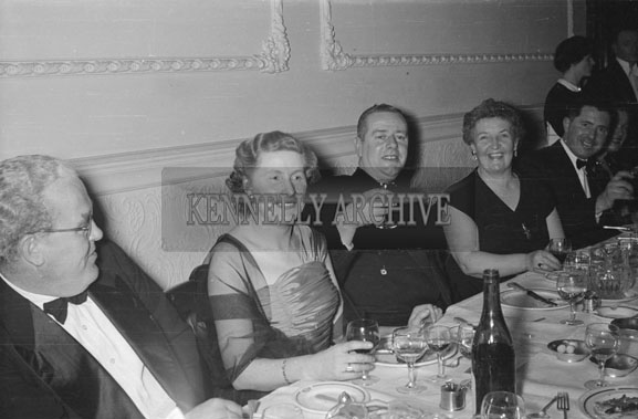 1st February 1956; Enjoying The Night At Tralee Golf Dance At The Lake Hotel In Killarney.