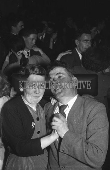 3rd February 1956; A Couple Dancing At The Abbeydorney Plough Prize Dance.