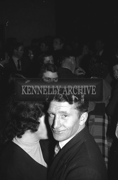 3rd February 1956; Couples Dancing At The Abbeydorney Plough Prize Dance.
