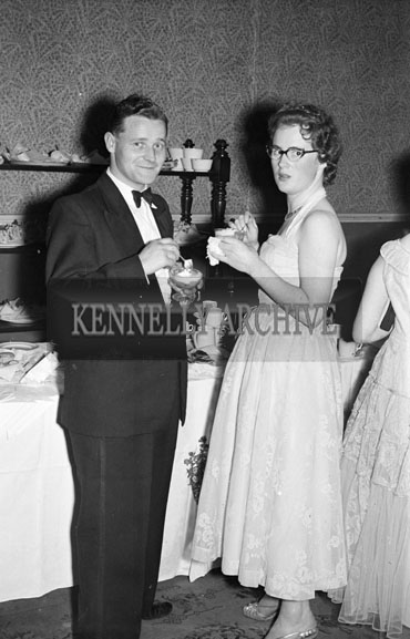 16th October 1956; People enjoying themselves at the Red Cross Dress Dance which took place in Ballybunion.