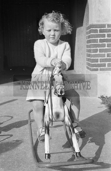 October; A photo of a child taken at home.